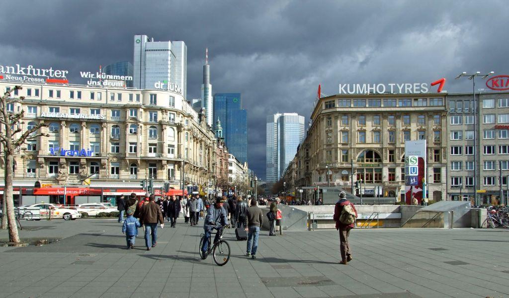 Bordel frankfurt Skyline