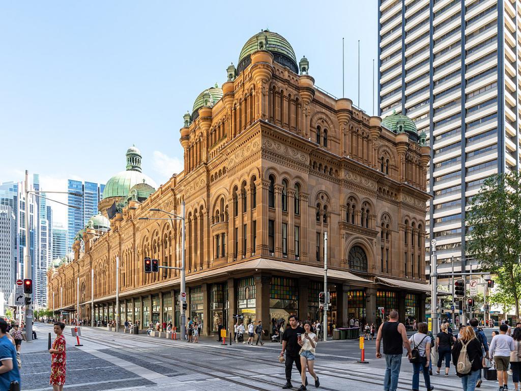 Contact of Queen Victoria Building, Sydney (phone, address