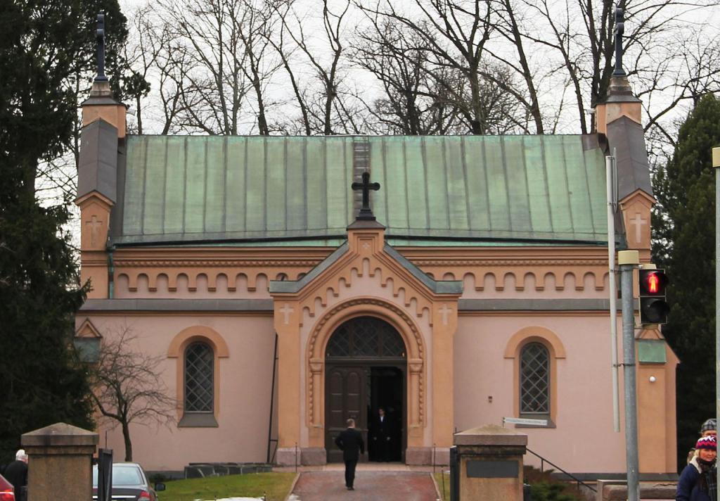 Hietaniemi Old Chapel Helsinki