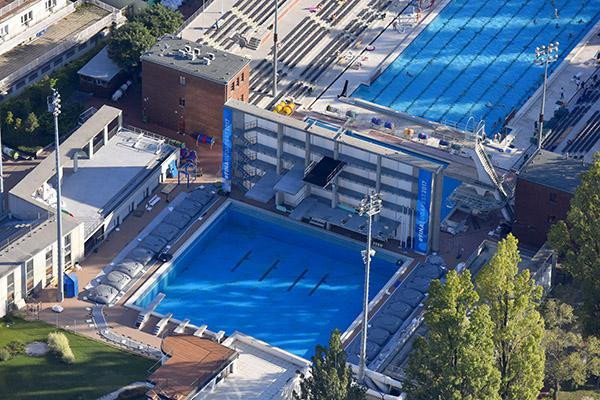 Tamas szechy swimming pools budapest - Margaret island budapest swimming pool ...