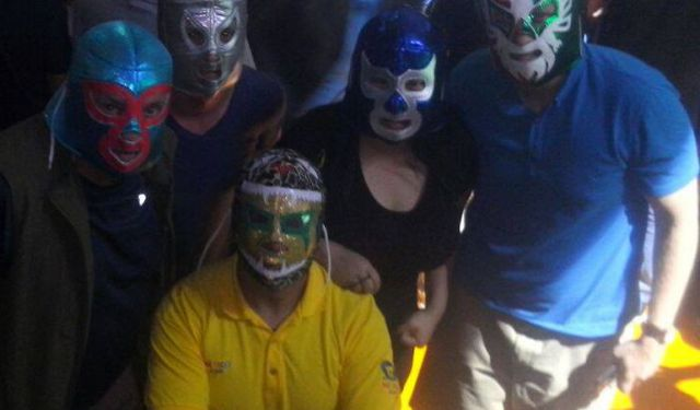 Pub Crawl and Lucha Libre Tour, Mexico City